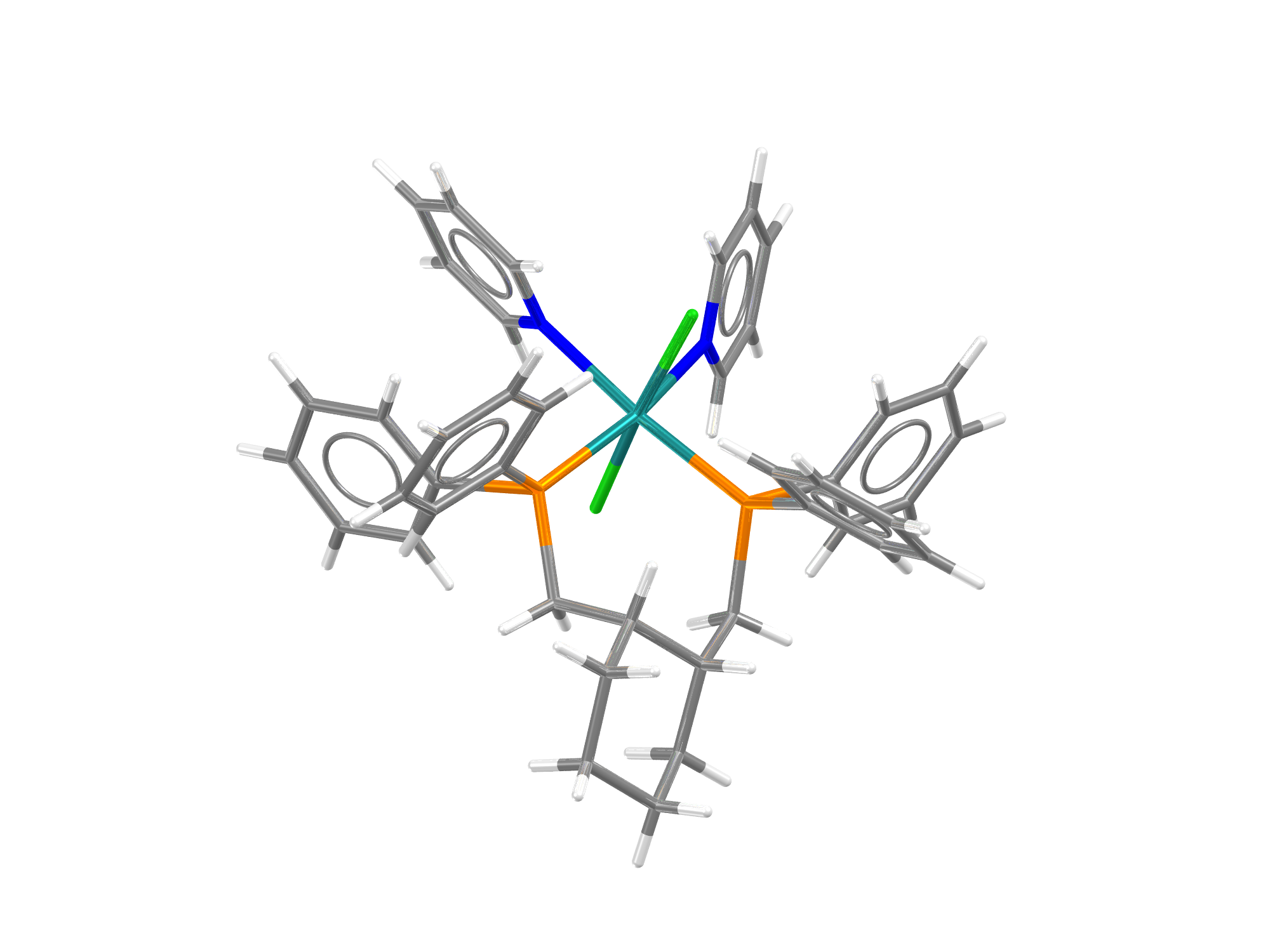 CSD Entry AHALEAD, A ruthenium complex authored by W.Clegg and R.W. Harrington and one of the 6,000+ CSD Communications added to the CSD this year.